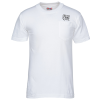 Bayside USA Made T-Shirt with Pocket - White