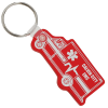 Ambulance Soft Keychain - Translucent