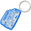 Jeep Soft Keychain - Translucent