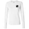 Bella Long Sleeve Jersey T-Shirt - Ladies' - White
