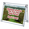 View Image 1 of 6 of A-Frame Pro Outdoor Banner Sign - 4'