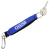 Neoprene Keychain with Carabiner