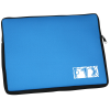 """View Image 1 of 3 of Contrast Laptop Sleeve - 10-7/8"""" x 14-1/4"""""""