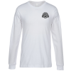 Bella+Canvas Long Sleeve Crewneck T-Shirt - Men's - White