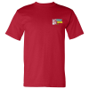 Bayside USA Made T-Shirt - Colors - Embroidered