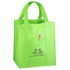 Matte Laminated Front Pocket Shopper Tote
