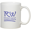 Value White Coffee Mug - 11 oz.