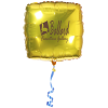 """View Image 1 of 4 of Foil Balloon - 22"""" - Square"""