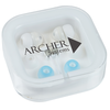 View Image 1 of 3 of Ear Buds with Interchangeable Covers - Bright White