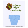 """View Image 1 of 2 of Seeded Paper Shapes Mailer/Postcard - 4"""" x 5"""" Flower Pot"""