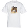 Hanes Tagless T-Shirt - Full Color - White - 24 hr