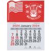 View Image 1 of 2 of Peel-N-Stick Calendar - American Flag