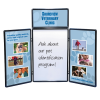 Show N Write Tabletop Display - 6' - Full Color