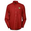 Soil Release Button Down Poplin Shirt - Men's