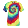 Dyenomite Tie-Dye Multicolor Spiral -T-Shirt - Screen