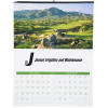 Golf Landscapes Calendar with 2-month view