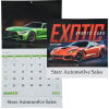 Exotic Sports Cars Calendar - Stapled