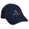 View Image 1 of 2 of Bayside USA Made Unconstructed Washed Cap