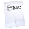 Sign Holder with Brochure Pocket - 11