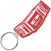 Safety Belt Soft Keychain - Translucent