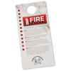 Fire Safety Hang Tag