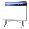 View Image 1 of 5 of Tabletop Banner System - 8'