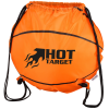 Game Time! Basketball Drawstring Backpack