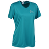 View Image 1 of 2 of Contender Athletic T-Shirt - Ladies' - Embroidered