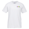 Gildan SoftStyle T-Shirt - Men's - Embroidered - White