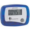 View Image 1 of 2 of Value In Shape Pedometer - Translucent - 24 hr