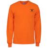 View Image 1 of 2 of Gildan 6 oz. Ultra Cotton LS Pocket T-Shirt - Colors - Screen