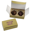Truffles - 2 Pieces - Gold Box