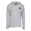 Next Level Tri-Blend Hoodie - White - Embroidered