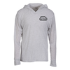 Next Level Tri-Blend Hoodie - Screen - White