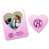 Bic Magnetic Photo Frame - Heart - 24 hr