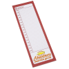 Bic Magnetic Manager Notepad - Daily - 50 Sheet