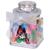 Plastic Goody Jar - Rainbow Bubble Gum