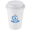 Paper Hot/Cold Cup with Traveler Lid - 12 oz. - Low Qty