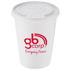 Paper Hot/Cold Cup with Tear Tab Lid - 12 oz.