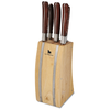 Laguiole 5 PC Knife Block Set