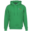 Cotton Rich Fleece Hoodie - Embroidered