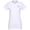 District Concert Tee - Ladies' - White - Screen