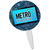 Grow Stick Mini Hand Fan - Round