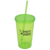 Economy Tumbler with Straw - 20 oz.