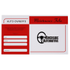 View Image 1 of 4 of Automotive Document Pouch