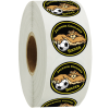 """View Image 1 of 2 of Full Color Sticker by the Roll - Circle - 1"""""""