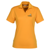 Moreno Textured Micro Polo - Ladies' - 24 hr
