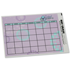 Removable Monthly Calendar Decal - Burst