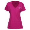 Fruit of the Loom HD V-Neck T-Shirt Ladies' - Screen- Colors