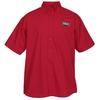 View Image 1 of 2 of Superblend Short Sleeve Poplin Shirt - Men's